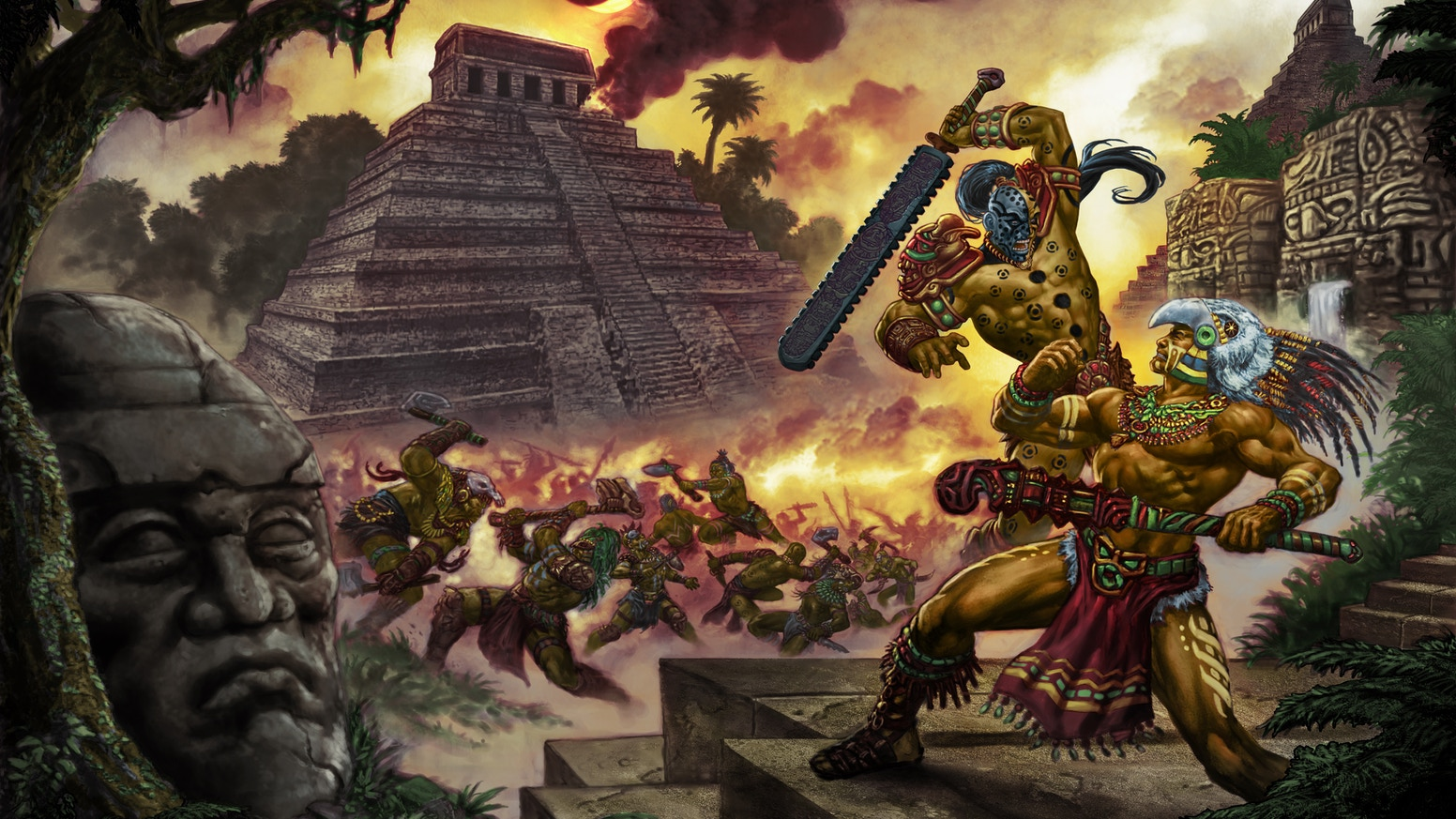 With a basis in mythology and fact, this tabletop RPG explores ancient south American history with miniature terrain, maps & adventure!