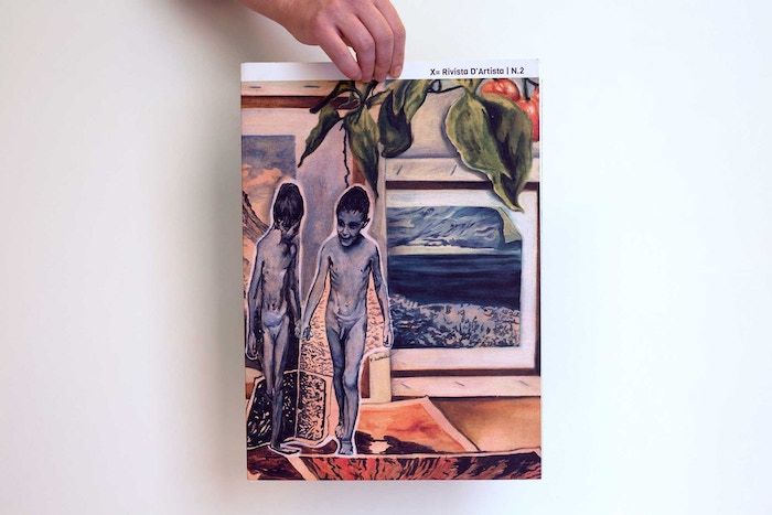 X=Rivista d'Artista is a collaborative artist's magazine for the independent art scene. It's international, made with and for artists.