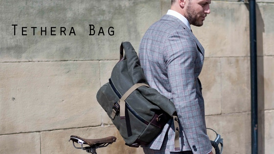 Tethera - Backpack, Satchel and Cycle bag.