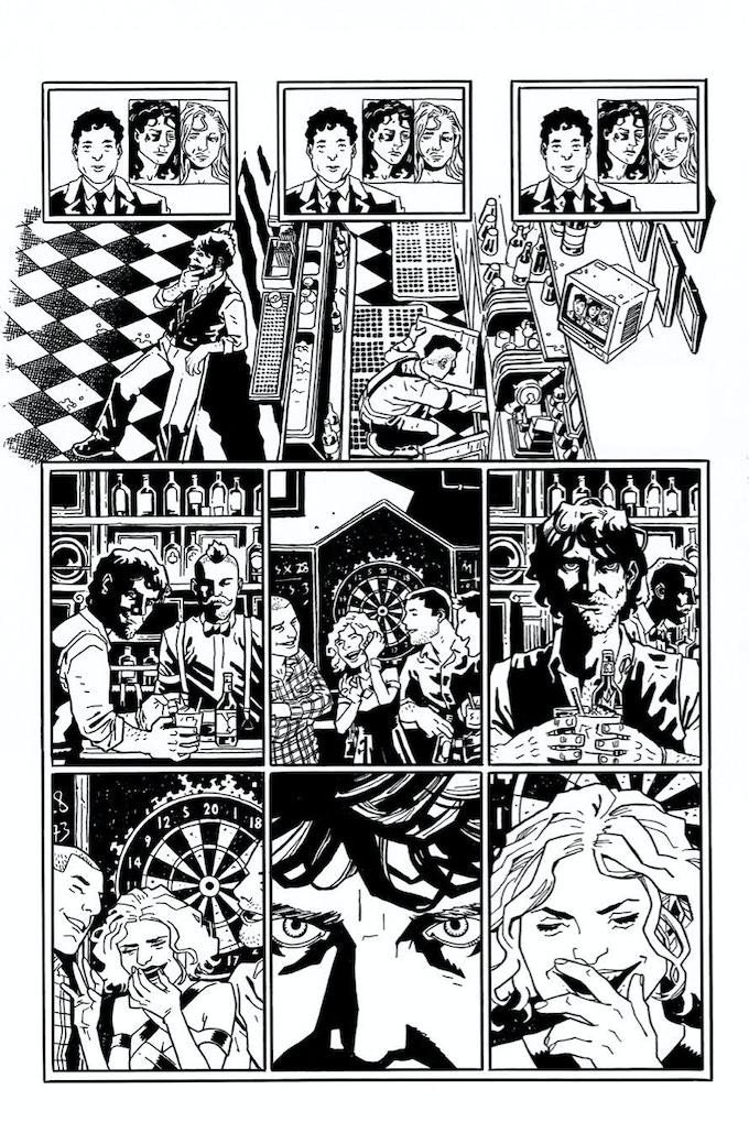 """A page from """"Diana The Avenger"""" by Vita Ayala and Eric Zawadzki"""