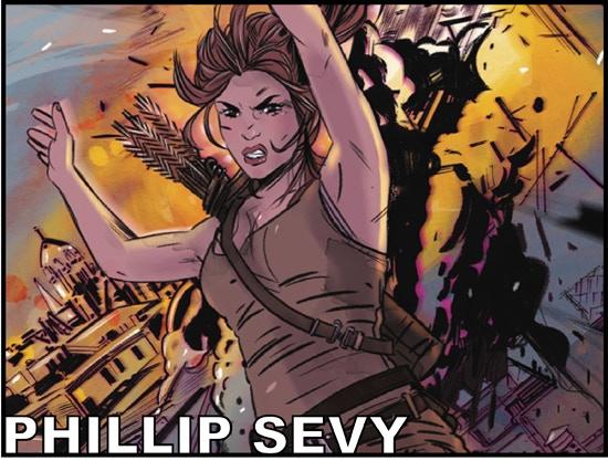 Artist PHILLIP SEVY (Tomb Raider, Paradox)