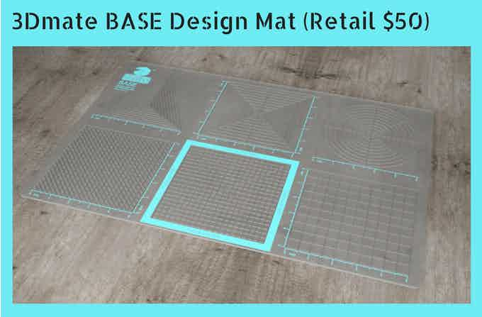 3Dmate BASE Design Mat for 3D Printing Pen (Retail $50)