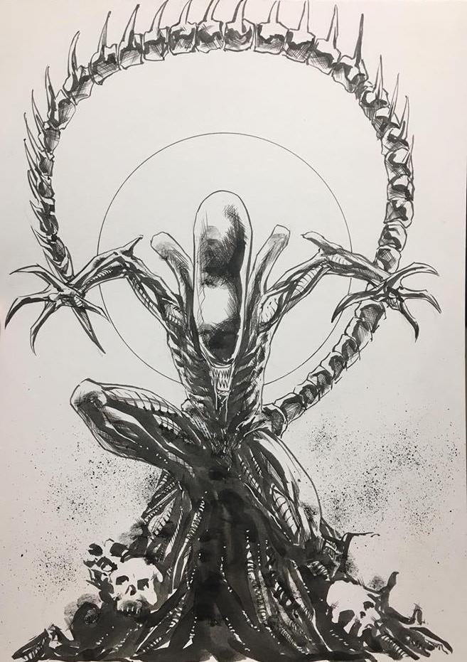 Example sketch by Phillip Sevy. Actual reward will vary.