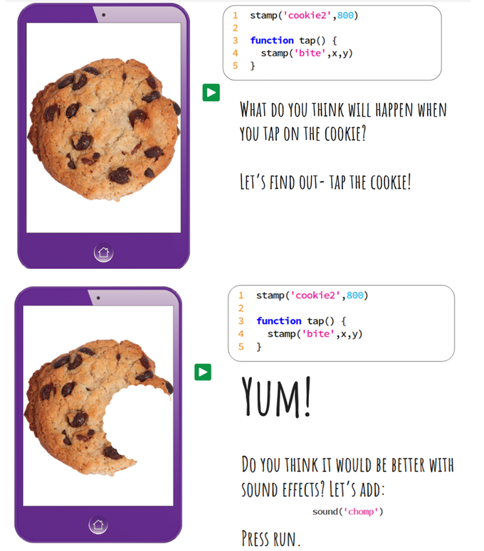 Example pages from Do You Love Cookies?