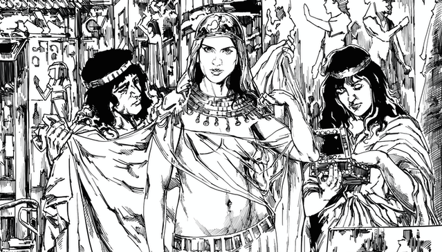 herod the great comic by christopher collom update 2 cleopatra