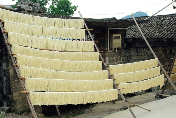 Noodle Making in Guilin, China