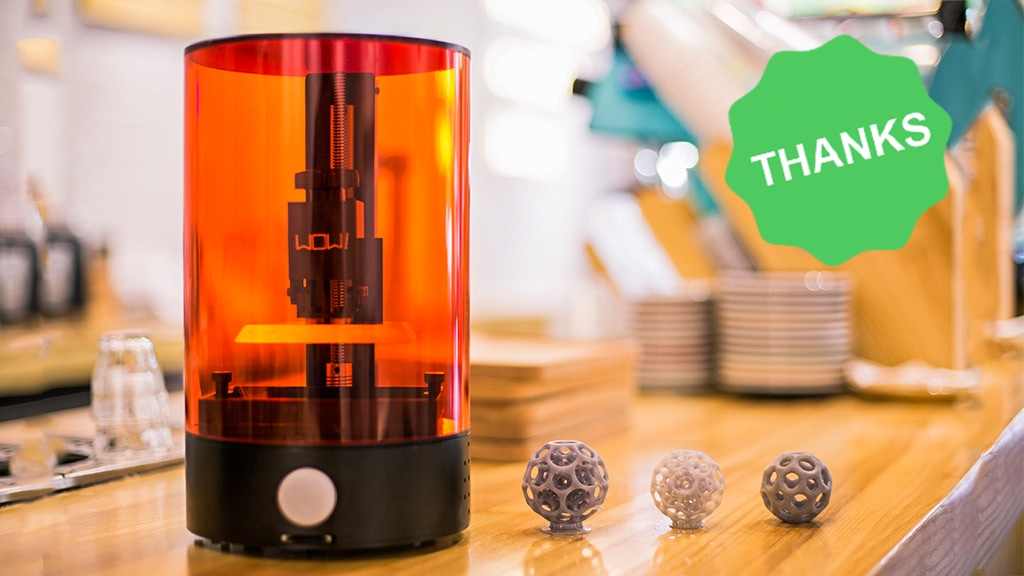 SparkMaker - The Most Affordable Desktop SLA 3D Printer project video thumbnail