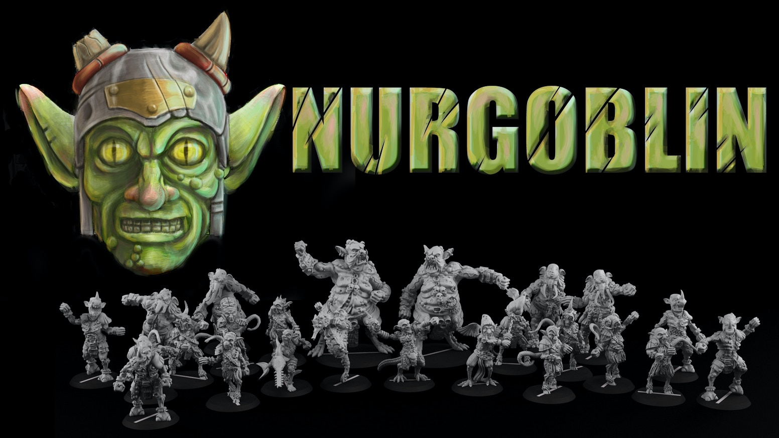 """Bad, stinky and ugly! Here it is, our team of 28mm and 35mm miniatures for fantasy football. Putrids and Goblins!"