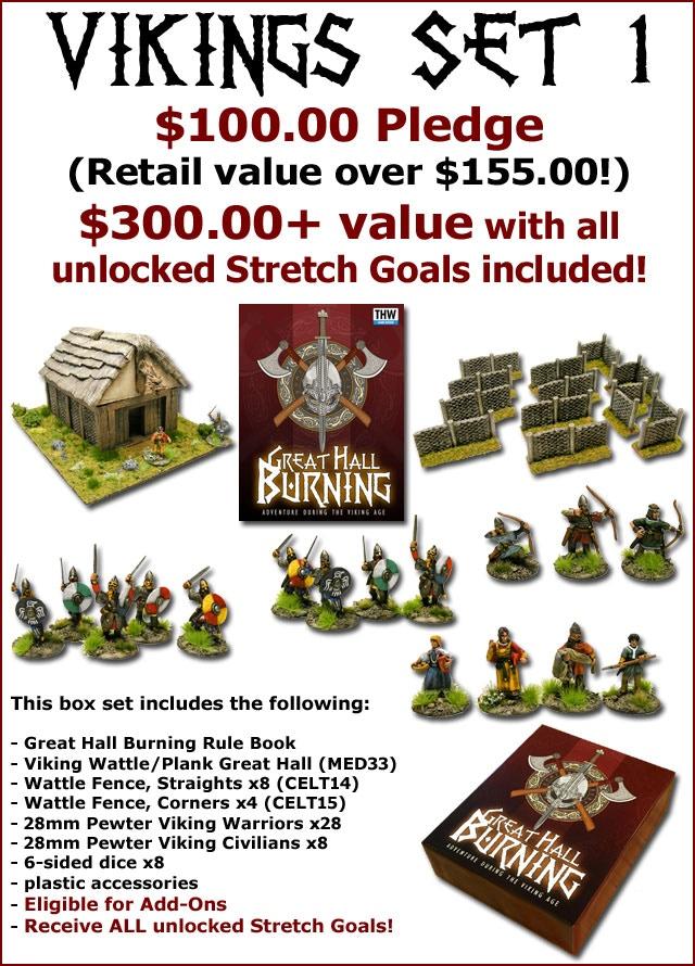 Viking Set 1 (MED40) = $100 Pledge!
