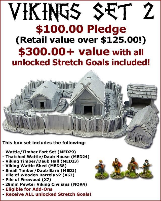 Viking Set 2 (MED41) = $100 Pledge!