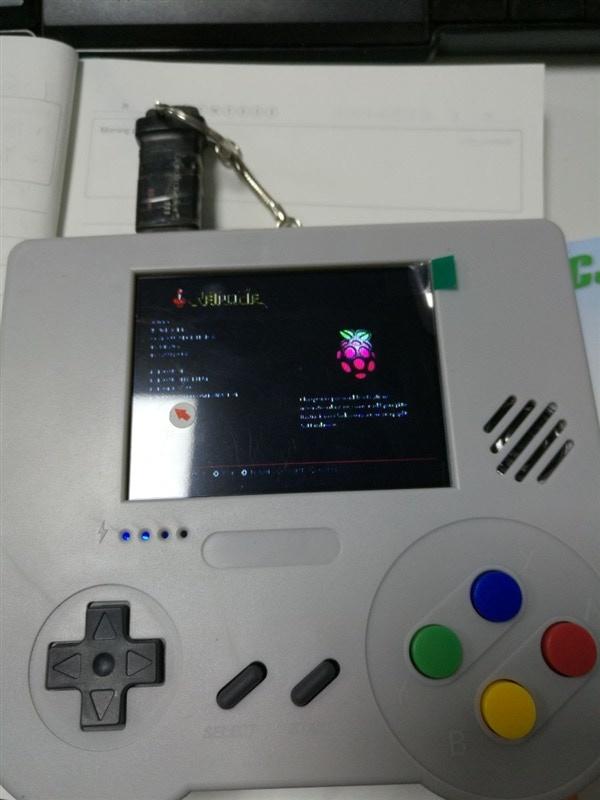 Raspi Boy : Retro handheld emulation console, electronic kit