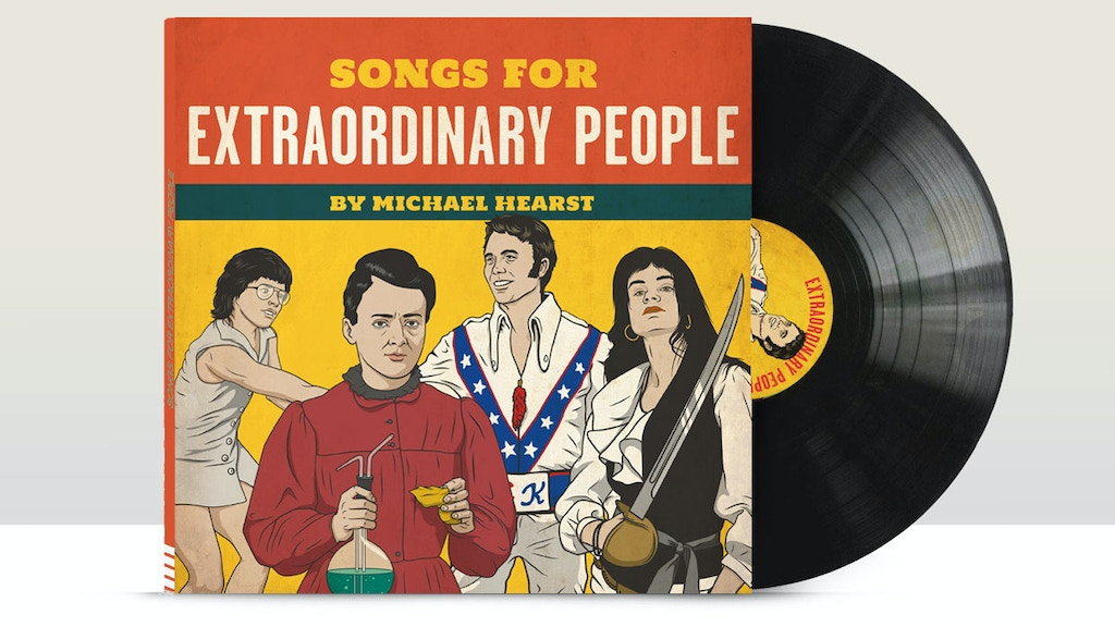 SONGS FOR EXTRAORDINARY PEOPLE the album, needs your help