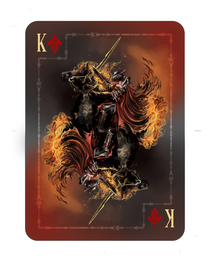 War Of Kings Facebook: Riders Of The Apocalypse Playing Cards By Ace Collectable