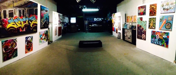 The Box (previous business)