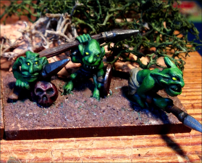 Snotty Goblins Painted