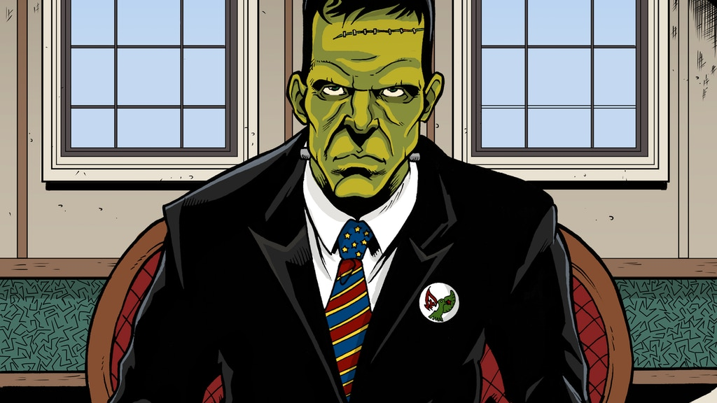 Frankenstein For Mayor - Comic about Partisan Politics project video thumbnail