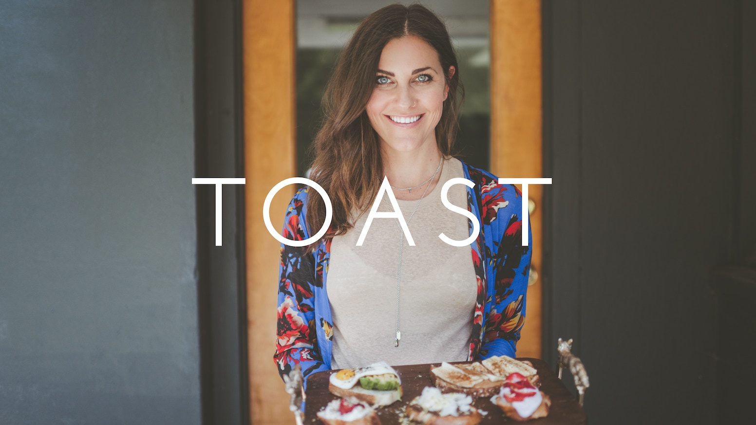 A cook book of 62 beautiful, approachable toast recipes for every craving.