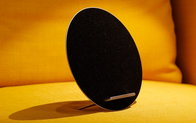 We make this amazing wireless charger with speakers. Nice, right? You can get one.