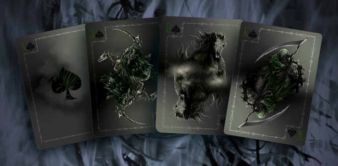 Pestilence Ace & Court cards, Click for high res