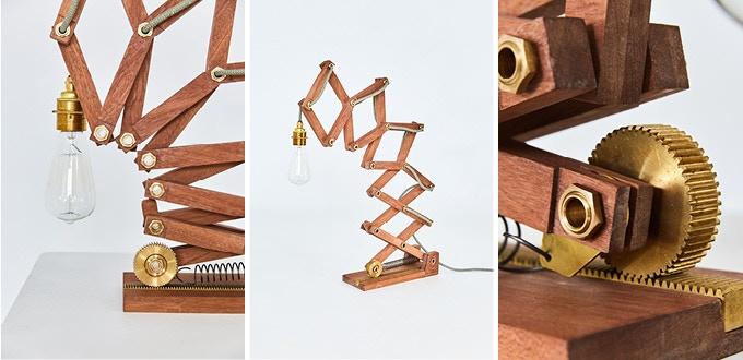 Crane The Kinetic Lamp By Matt Gilbert Kickstarter