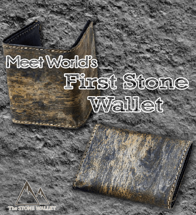 Meet The Stone Wallet