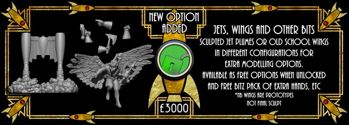 Wings, Jet Plumes and Bitz now unlocked