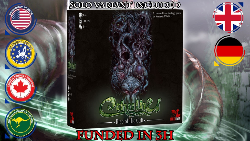 CTHULHU: Rise of the Cults project video thumbnail