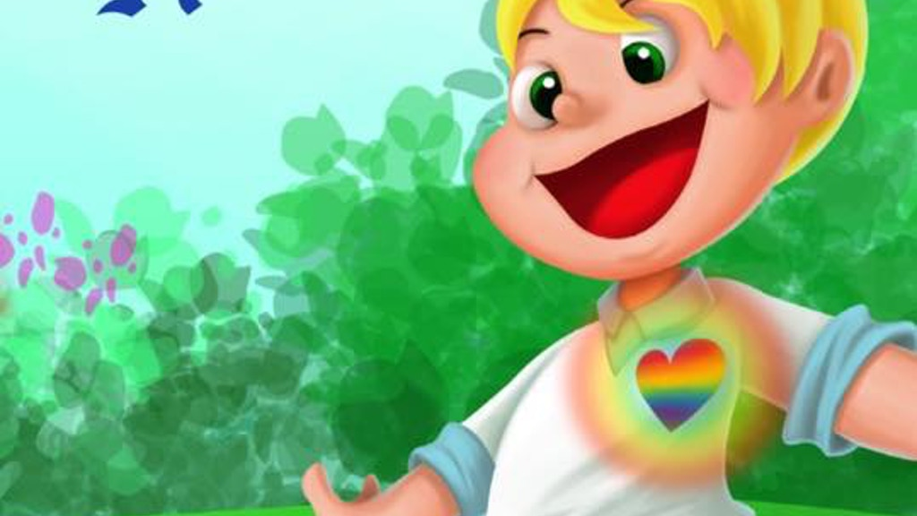 The Boy with the Rainbow Heart: An LGBTQ Kid/Children's Book project video thumbnail