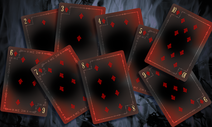 War Numbered Cards