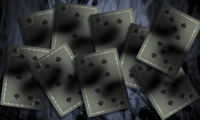 Pestilence Numbered Cards