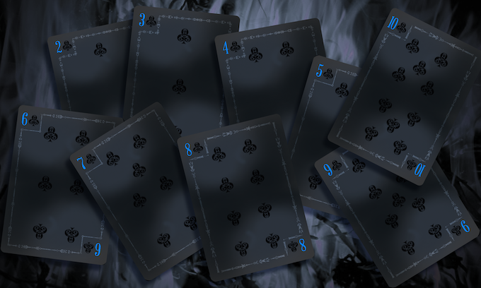Famine Numbered Cards