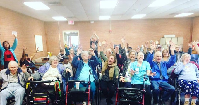 Post Performance Photo at Midland Assisted Living in Topeka, KS