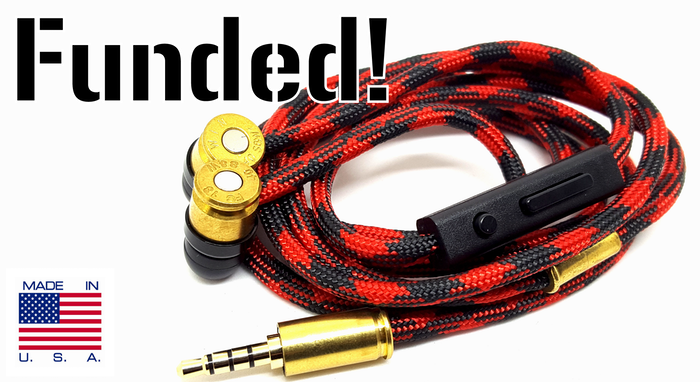 Handmade Durable Headphones with Controls & Microphone by