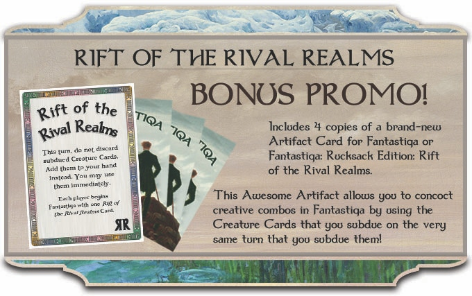 Prototype Card Shown -- Included with every copy of Rival Realms