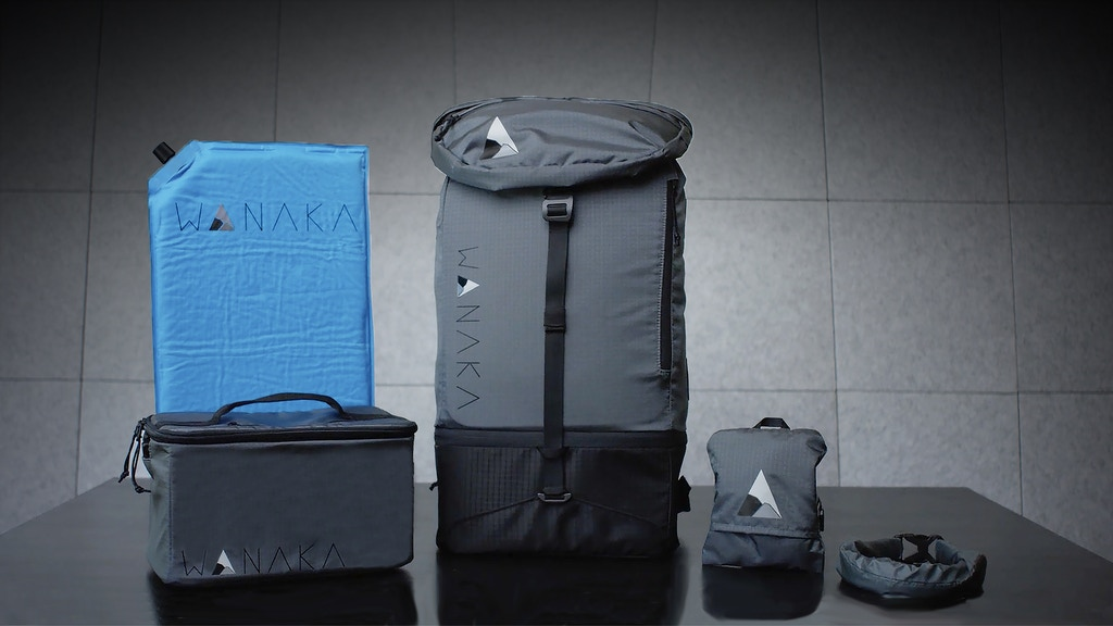 The Wanaka Packable Daypack and Adapt Adventure System project video thumbnail