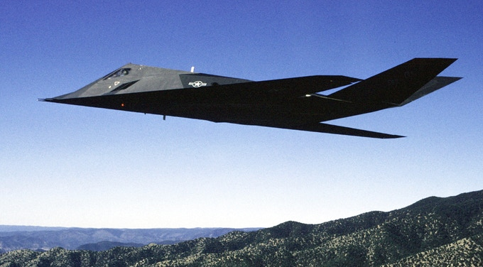 Inspiring geometry: the Lockheed F117 Nighthawk