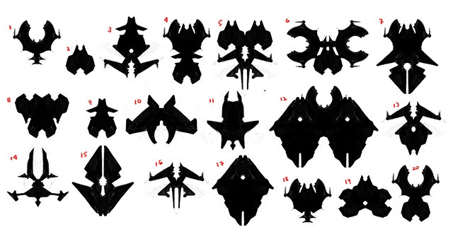 Frame silhouette concepts