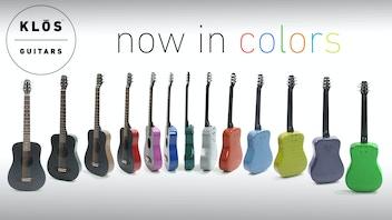 Colored Carbon Fiber Guitars | KLŌS Guitars