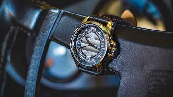 Automotive inspired designer watches