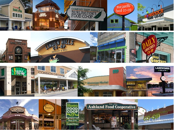 There are over 300 community-owned grocery stores across the USA and Canada.
