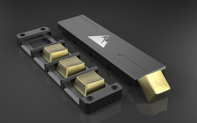 All Metal KeyCap [A M K ] by pieter-jan — Kickstarter