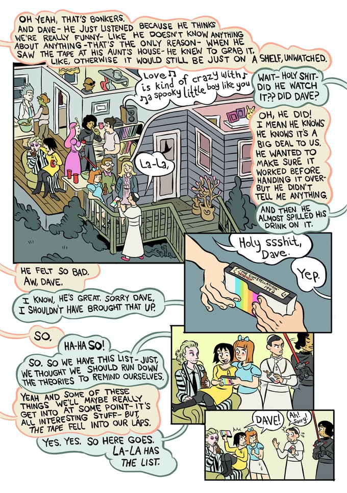 page from Carolyn Nowak's 'The Big Burning House'