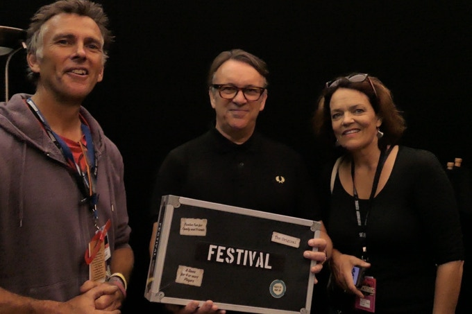 Chris Difford loved our game!