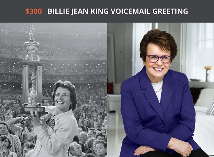 Thank you, Billie Jean King!