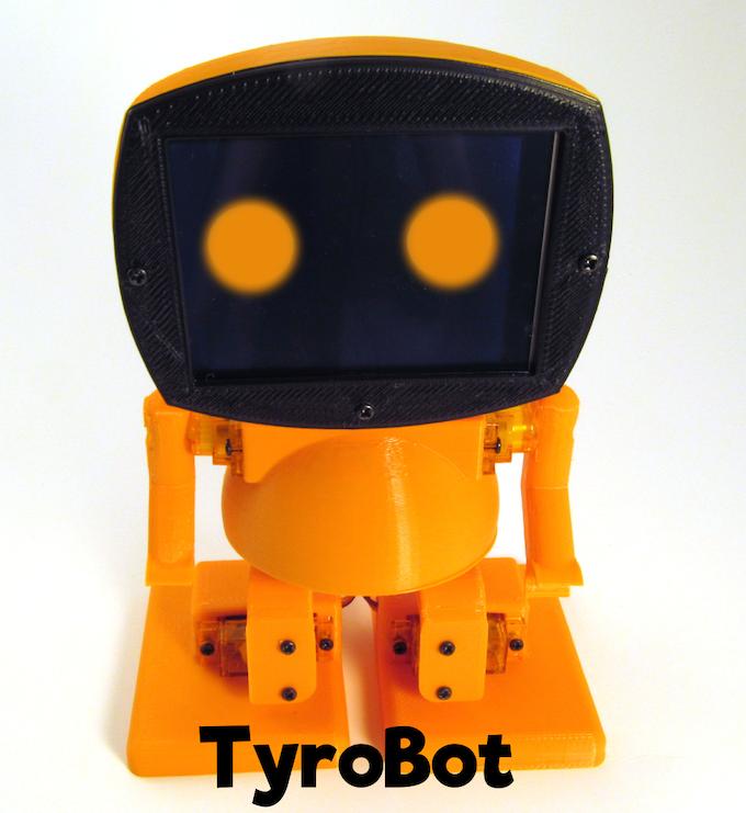 TyroBot DIY Humanoid Robot Kit by Tyro Electronics — Kickstarter