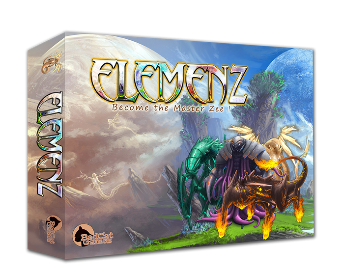 Master the wild cosmic energy as one of four alien races and defeat your opponents in this devious alien dice duelling board game for 2-4 players.