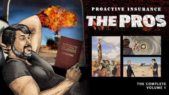 Proactive Insurance: The Pros — an absurdist spy thriller