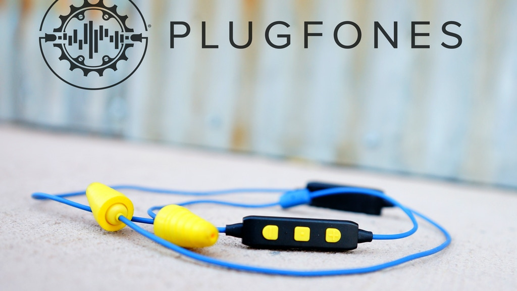Where Earplugs Meet Earbuds! PLUGFONES® LIBERATE 2.0 project video thumbnail
