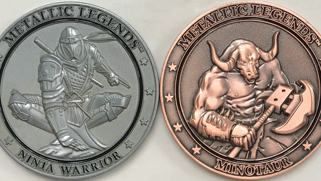 Metallic Legends: Collectible Fantasy Coins project video thumbnail