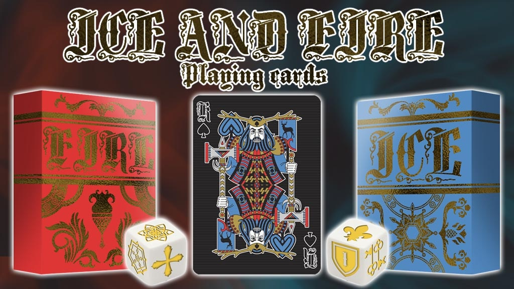 Project image for ICE AND FIRE Playing cards